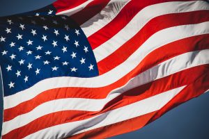 Image of American Flag represents that our products to remove tear stains are made in the USA